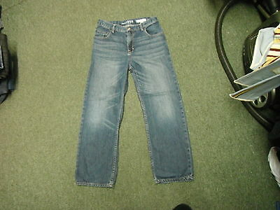 "Gap Original Coupe Authentique Jeans W28"" L26"" Faded Dark Blue Boys 12 Yrs Jeans"