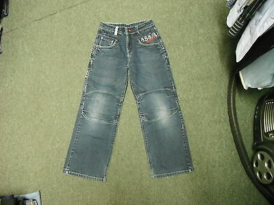 "Next Relaxed Jeans Waist 26"" Leg 24"" Faded Dark Blue Boys 11 Yrs Jeans"