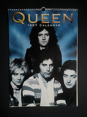 Queen Rock Band 1997 Calendar