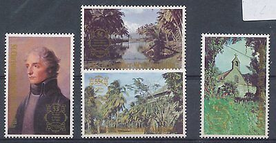 St Kitts Nevis 1980 London '80 Int Stamp Exhib set of 4
