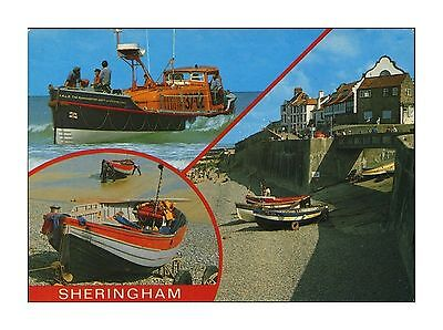 Sheringham Norfolk Multiview Rnli Lifeboat-Manchester Unity Of Oddfellows B702