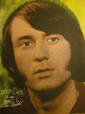 Mike Nesmith, The Monkees, Full Page Vintage Pinup, Michael