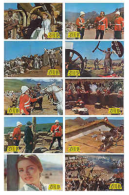Zulu -  Film Lobby Card / Postcard Set  # 1