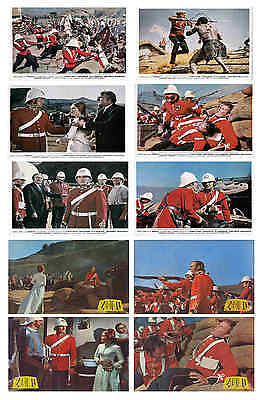 Zulu -  Film Lobby Card / Postcard Set  # 2