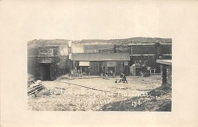 Rppc Wwi Military Verdun France Fort Froideterre Real Photo Postcard 1918