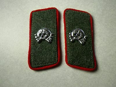 WWII WW2 German HEER Artillerie collar tabs patch patches Uniform insignia