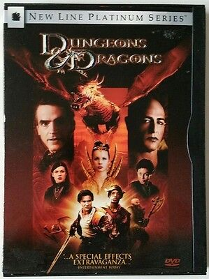 Lot of 3 DVDs - 2 Dungeons & Dragons DVDs and Dragon Wars DVD