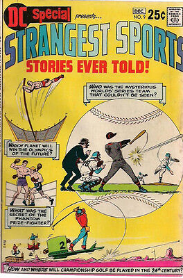 DC SPECIAL #9 STRANGEST SPORTS STORIES EVER TOLD! (1970) DC Comics  VG+