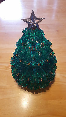 "Bead Kit  *NEW* 11"" Tall Christmas Tree Bead Craft Kit  Custom Design"