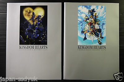 JAPAN Kingdom Hearts Character's Report 1~2 Complete set