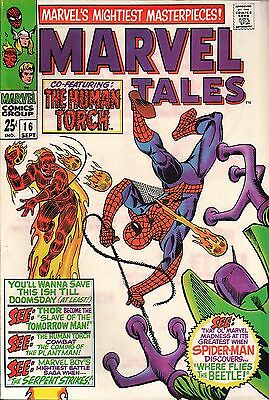Marvel Tales No.16 / 1968 The Amazing Spider-Man Thor The Human Torch Marvel Boy