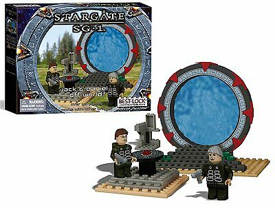 Stargate SG-1 Best-Lock Jack & Daniel Off Wolrd Construction Boxed Toy(FW-01108)