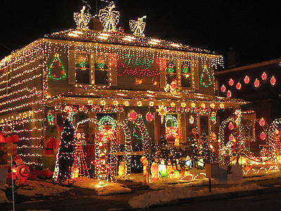 Christmas SYNCHRONIZED LIGHTS SOUND System Music Outdoor Holiday Outlet Plug NEW