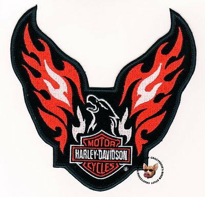 Harley Davidson Phoenix Flaming Eagle Vest Patch * Rare * Discontinued Nip