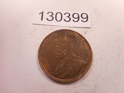 1918 Canada Large Cent Nice Collector Grade Album Coin - # 130399 Some Red