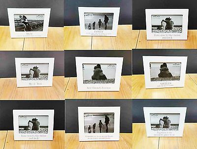 White Wood Picture Photo Frames Home Decoration Wedding Gift For Friends Family