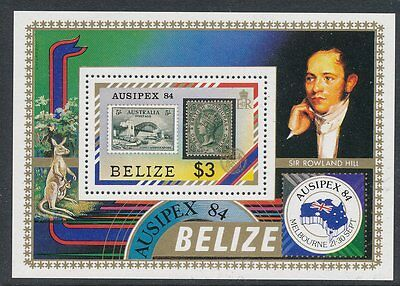 Belize 1984 Ausipex '84 Int Stamp Exhibition MS