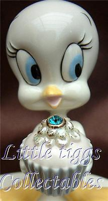Lenox A Present From Tweety December Fine Ivory China, Hand Painted 24k Gold Acc