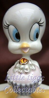 Lenox A Present From Tweety November Fine Ivory China, Hand Painted 24k Gold Acc