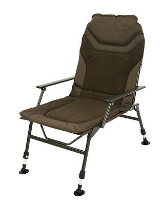 Daiwa NEW Carp Fishing Green Mission Deluxe Specialist Arm Chair - DMDSC1