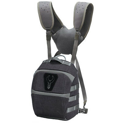Badlands Tactical Bino Binocular Case (Gunmetal) w. Shoulder Straps