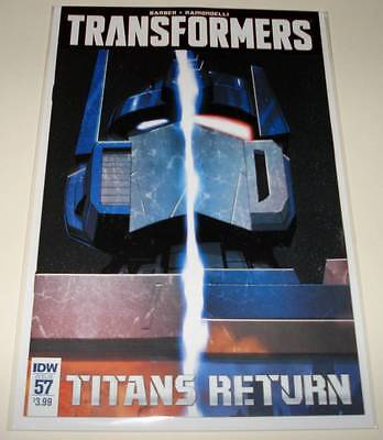 TRANSFORMERS # 57  IDW Comic  Sept 2016  NM