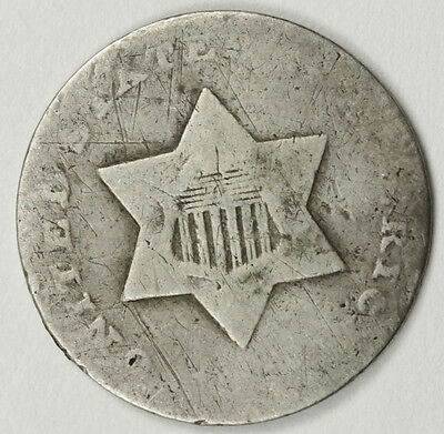 1851-o 3 Cent Silver.  Circulated.  87646