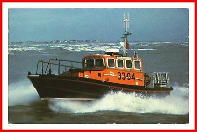 RNLI BREDE CLASS SELF-RIGHTING LIFEBOAT No 33-04 PHILIP VAUX POSTCARD