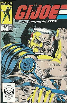 G.i.joe: A Real American Hero #83  (Marvel) (1989) Nm-