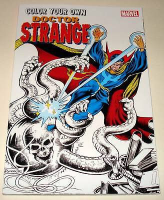 Color Your Own DOCTOR STRANGE  Marvel Softback Book 2016  New / Unused
