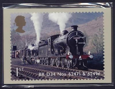 Gb 2012 Classic Locomotives Of Scotland Phq Stamp Cards Mint