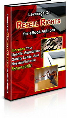 Increase Your eBook Upsells & Quality Leads by Leveraging On Resell Rights (CD)