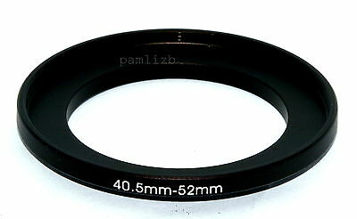40.5-52mm  camera lens Filter stepping  adapter ring ,    40.5mm-52mm