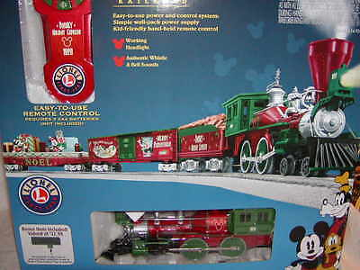 Lionel 6-82716 Mickey's Holiday to Remember Train Set O 027 Lionchief MIB New