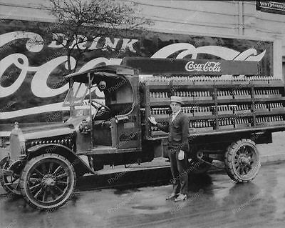 Coca-Cola N-Orleans Company Delivery Truck Classic 8 by 10 Reprint Photograph