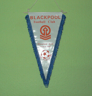 BLACKPOOL FC - 'The Seasiders' Vintage 1970s Pennant