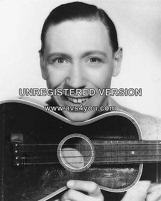 """George Formby 10"""" x 8"""" Photograph no 2"""