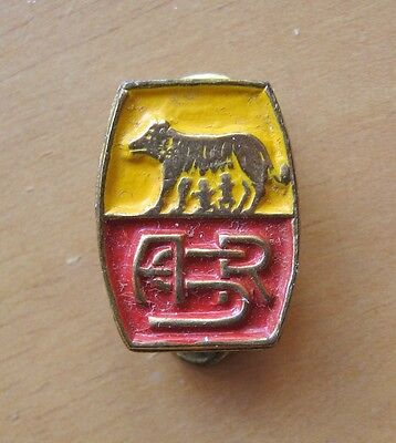 ROMA Italy - Superb Vintage Buttonhole Football Pin Badge