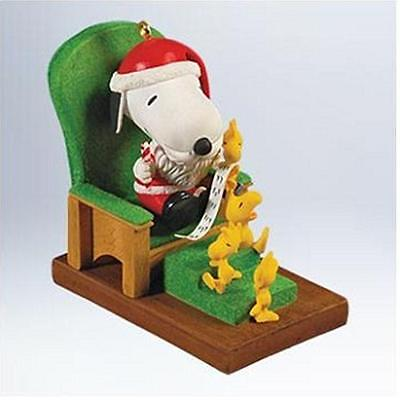 Hallmark Keepsake Ornament 2011 Snoopy Claus - The Peanuts Gang - #QXI2899-SDB