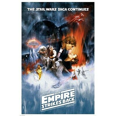 Star Wars Poster THE EMPIRE STRIKES BACK Brand new GEORGE LUCAS size 61 X 91.5cm