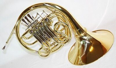 New product: Double French horn F/Bb + Case, 4 Valves