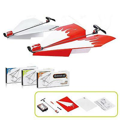 Novelty Power up Electric Paper Plane Airplane Conversion Kit Educational Toy