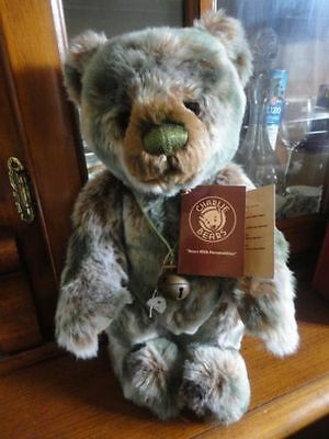 14 Inches Charlie Bears Isabelle Lee's GOOSEBEARY Teddy Bear-new with tag