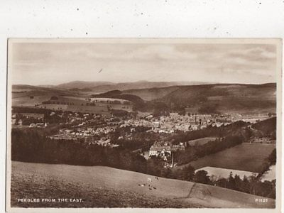 Peebles From The East [P1121] 1941 RP Postcard 862a