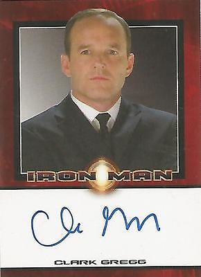 "Iron Man Movie - Clark Gregg ""Agent Phil Coulson"" Autograph Card"
