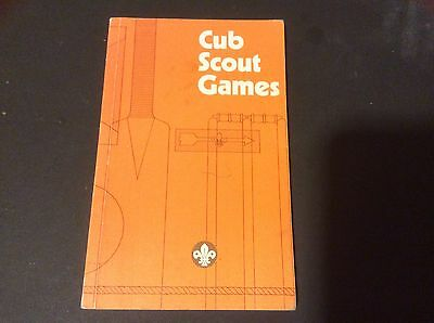 CUB SCOUT GAMES  -  Joyce  Trimby -  Softcover Book 1982