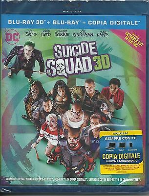 Suicide Squad. Extended edition 3D (2016) 2 Blu Ray