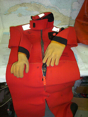 Boaters' Resale Shop of Tx 1603 2042.04 STEARN'S ISS-590 I ADULT IMMERSION SUIT