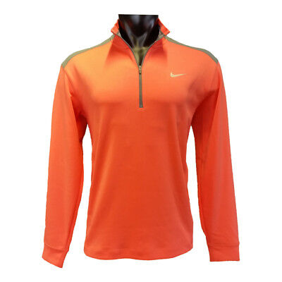 Nike DriFit Sweater (orange/silver) - NEU