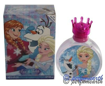 Frozen Disney 3.3/3.4oz Edt Spray For Girls New In Box